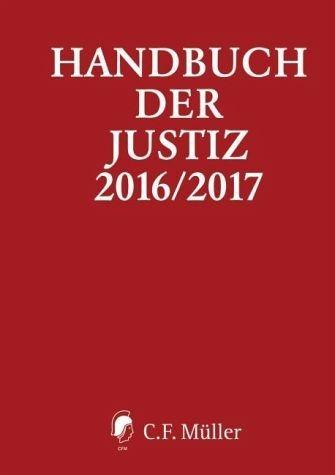 Gebundenes Buch »Handbuch der Justiz 2016/2017«