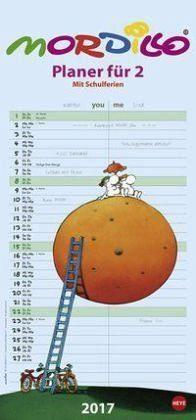 Kalender »Mordillo Planer für zwei 2017«