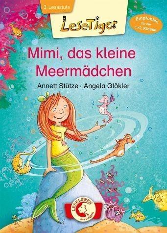 Gebundenes Buch »Lesetiger - Mimi, das kleine Meermädchen«