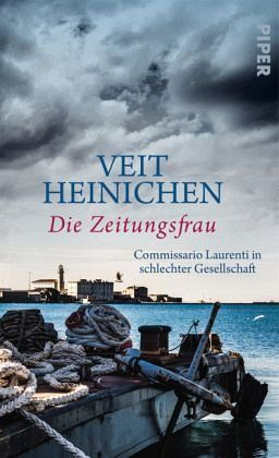 Gebundenes Buch »Die Zeitungsfrau / Proteo Laurenti Bd.9«