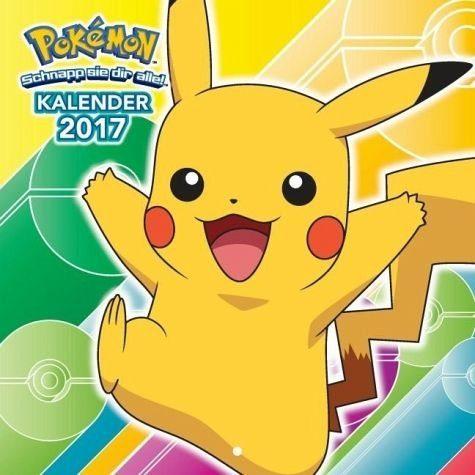Kalender »Pokémon: Wandkalender 2017«