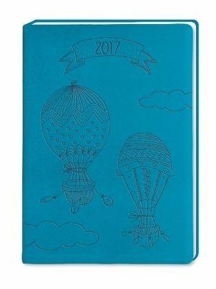 Buch mit Kunststoff-Einband »Timer Petrol 2017«