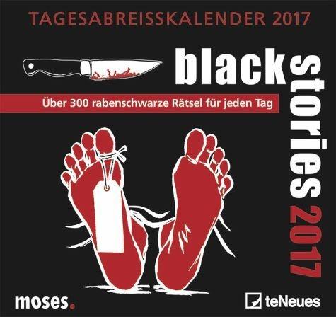 Kalender »moses black stories 2017«