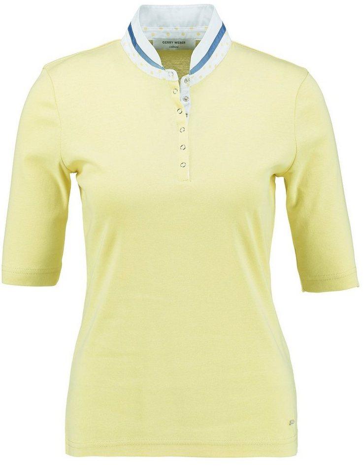 Gerry Weber T-Shirt 1/2 Arm »Lockeres 1/2 Arm Shirt« in Lemone