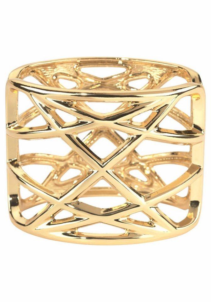 J. Jayz Armspange im modischen Design in goldfarben