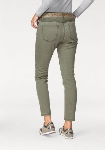 s.Oliver RED LABEL 5-Pocket-Hose, Materialmix