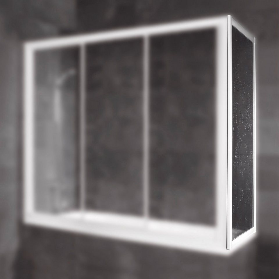 Seitenwand »Für Gleittür« in alpinweiß