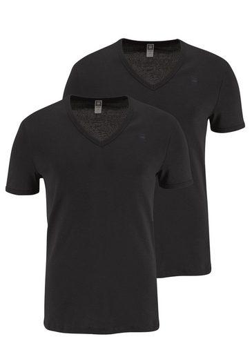 G-Star RAW T-Shirt (Packung, 2er-Pack) Basic-Artikel in blickdichter, hochwertiger Baumwollqualität
