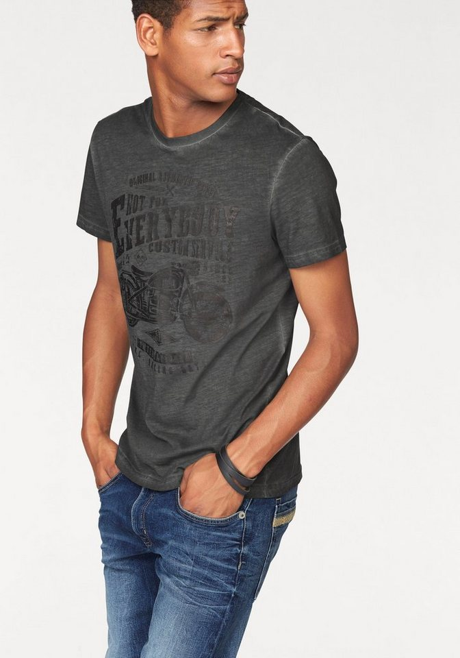 Bruno Banani T-Shirt in anthrazit