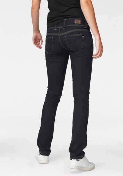 97cdc2eed25cf0 Pepe Jeans Straight-Jeans »VENUS« mit breitem 2-Knopf-Bund