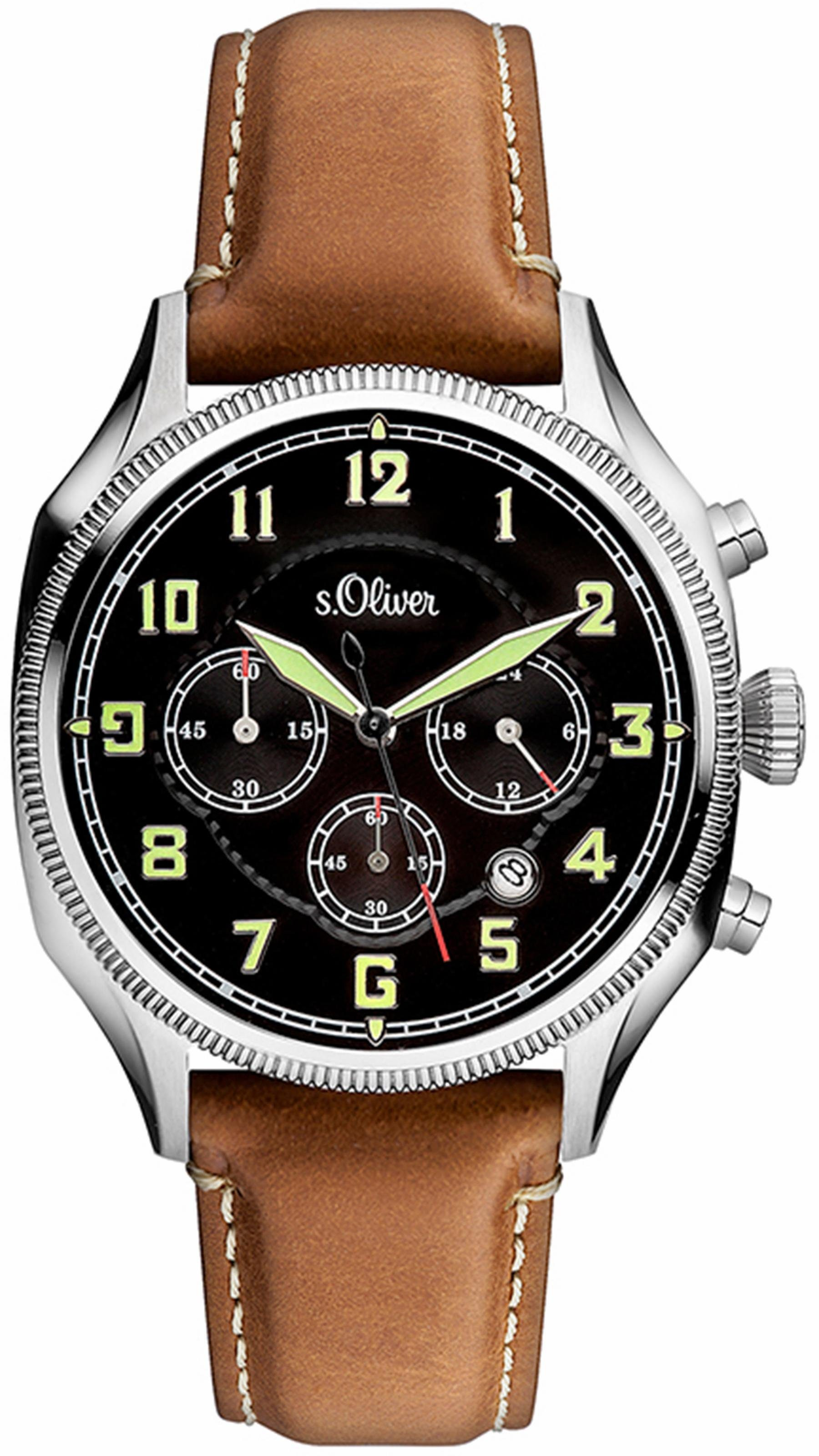 s.Oliver RED LABEL Chronograph »SO-3180-LC«