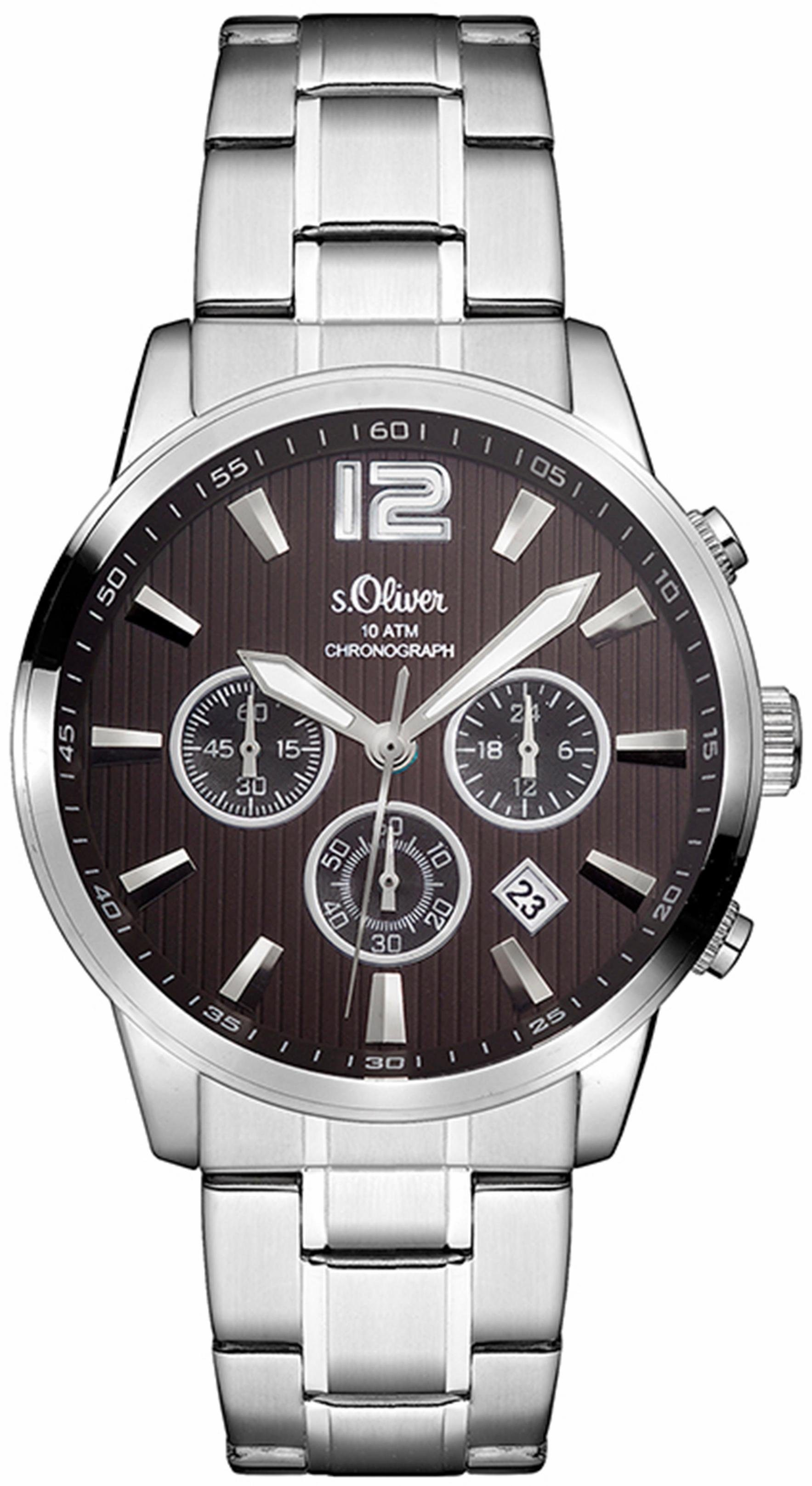 s.Oliver RED LABEL Chronograph »SO-3173-MC«
