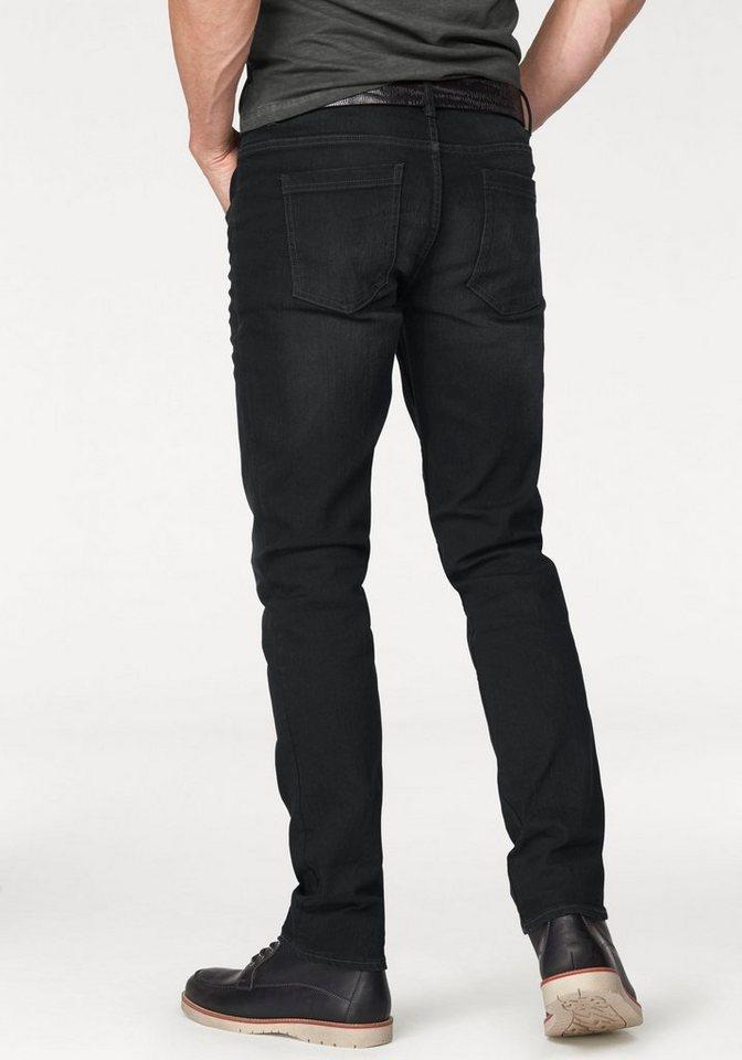 Blend Slim-fit-Jeans »Twister« in black-used