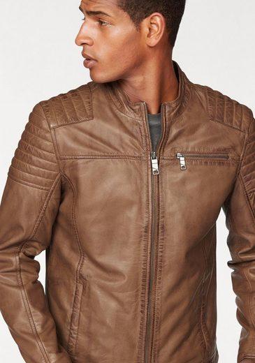 Maze Leather Jacket