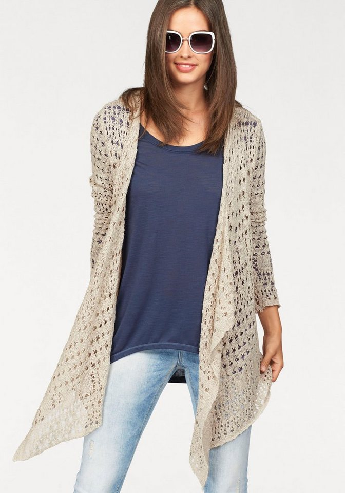 Laura Scott Cardigan in beige