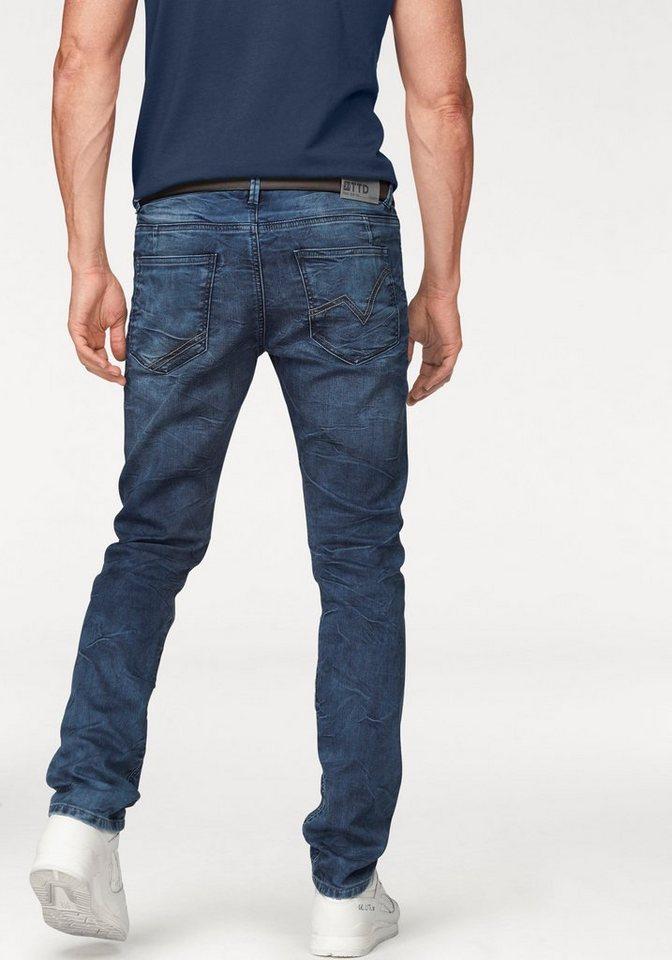 Tom Tailor Denim 5-Pocket-Hose »Jogg Denim« in blue-used+blue-used