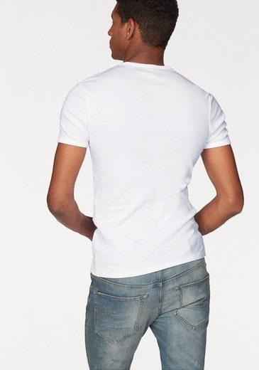 G-Star RAW T-Shirt (Packung, 2er-Pack), Basic-Artikel in blickdichter, hochwertiger Baumwollqualität