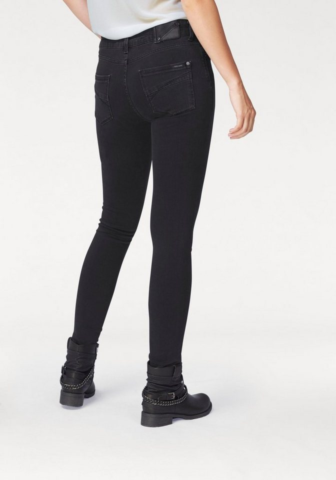 Garcia Röhrenjeans »Rachelle« in black-worn