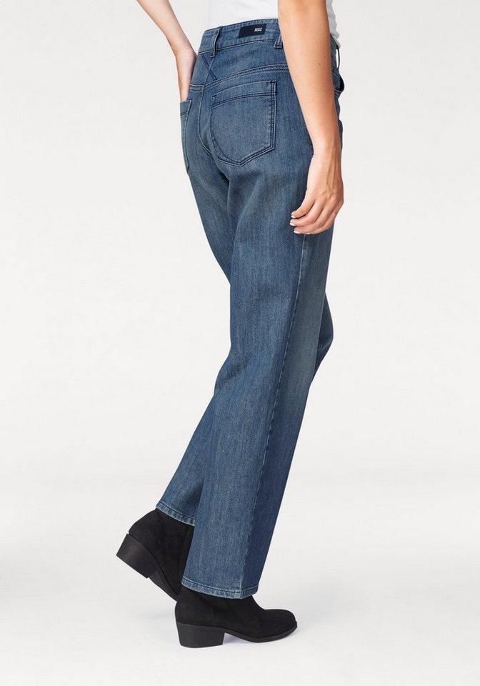 MAC Bequeme Jeans »Grazia« etwas weiter geschnitten in blue