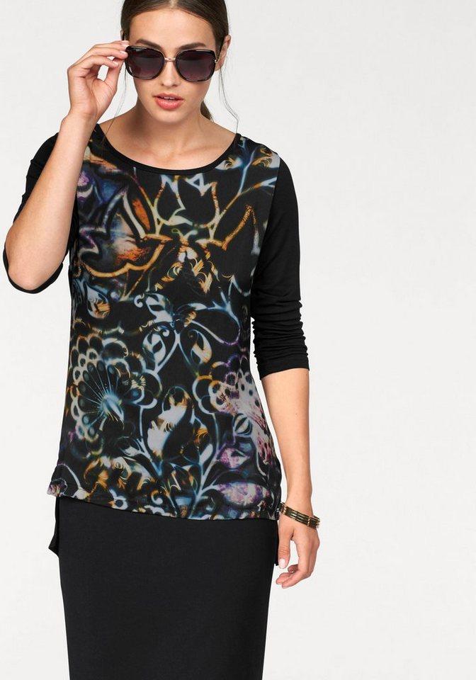 Bruno Banani Print-Shirt in bunt
