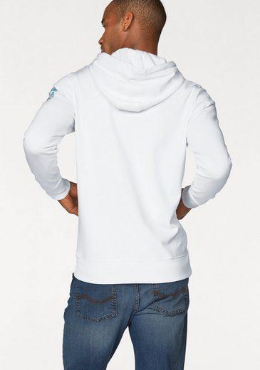 Rhode Island Kapuzensweatshirt, mit Kängurutasche