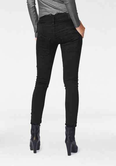 Schwarze jeans mit stretch
