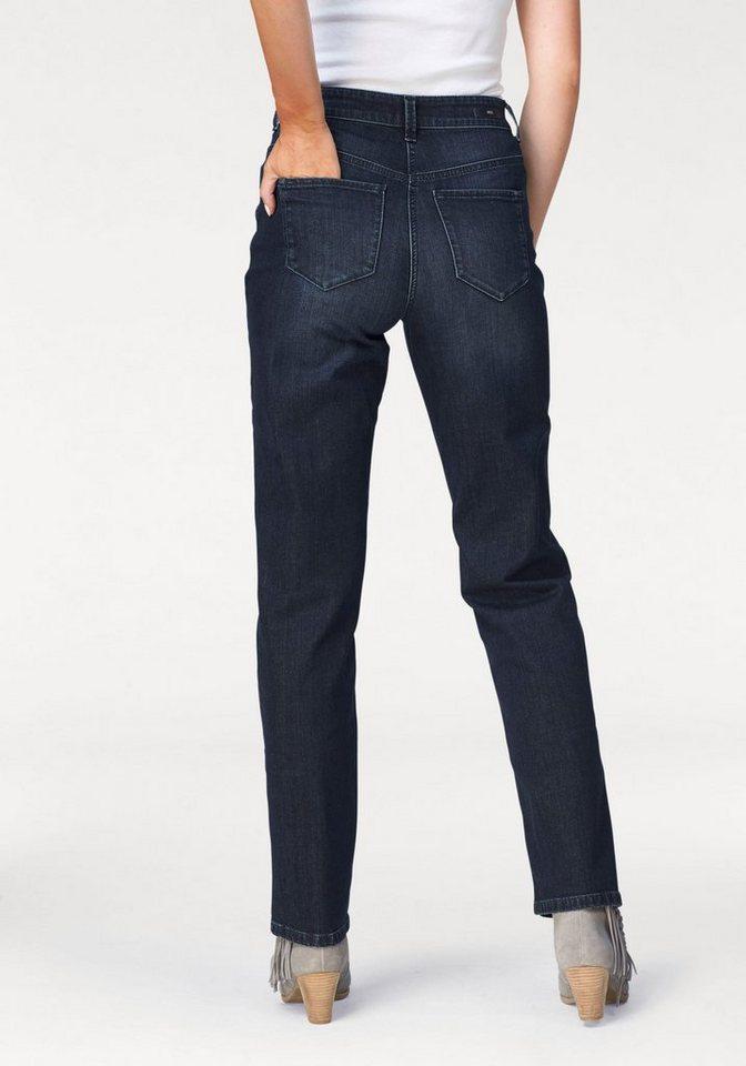 MAC Bequeme Jeans »Stella Stitch« in darkblue