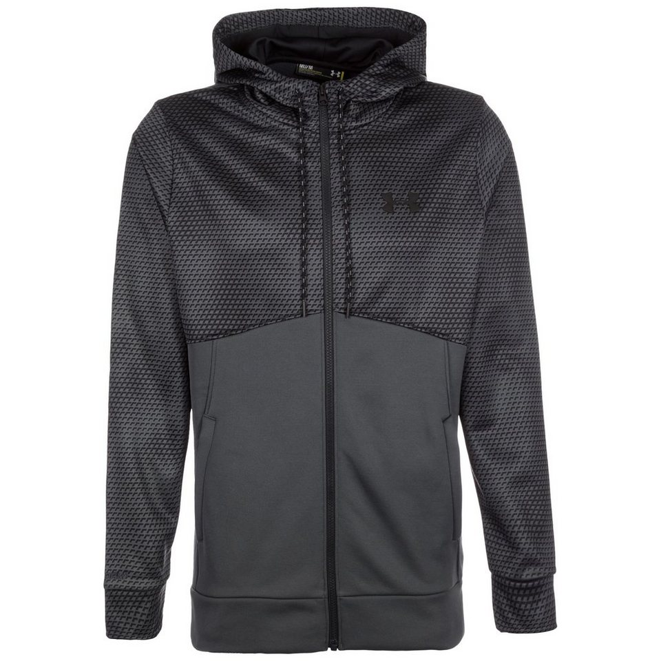 Under Armour® ColdGear Storm AF Icon Trainingsjacke Herren in grau / schwarz