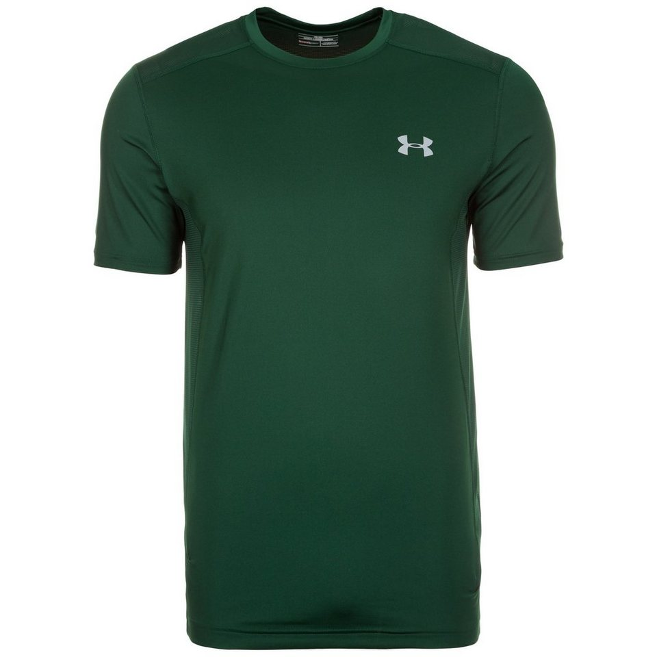 Under Armour® HeatGear Raid Trainingsshirt Herren in dunkelgrün