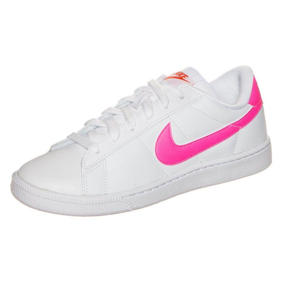 Nike Sportswear Tennis Court Sneaker Damen in weiß / pink