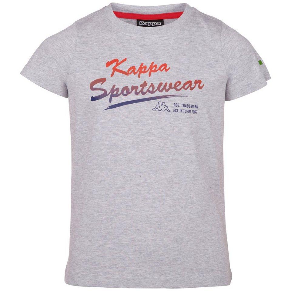 KAPPA T-Shirt »ZOFIA KIDS« in grey melange