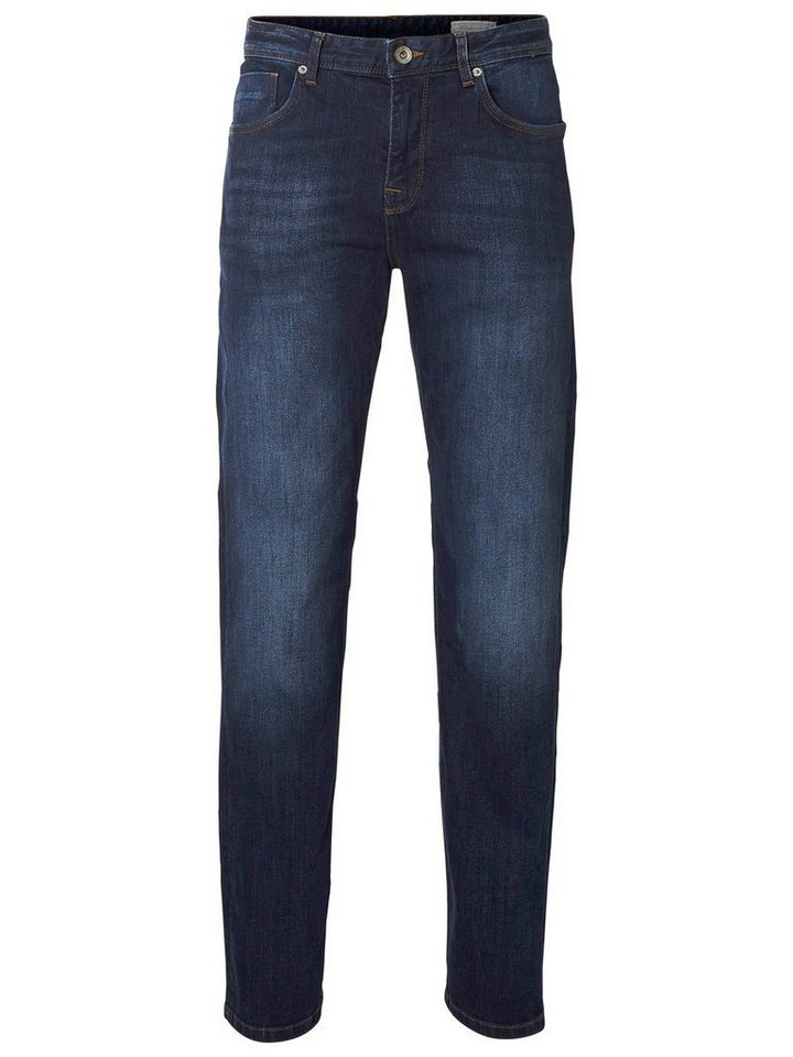 Selected Regular-Fit- Jeans in Dark Blue Denim
