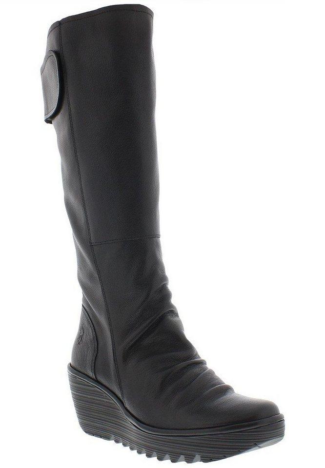 FLY LONDON klassischer Stiefel »YULO688FLY mousse« in schwarz