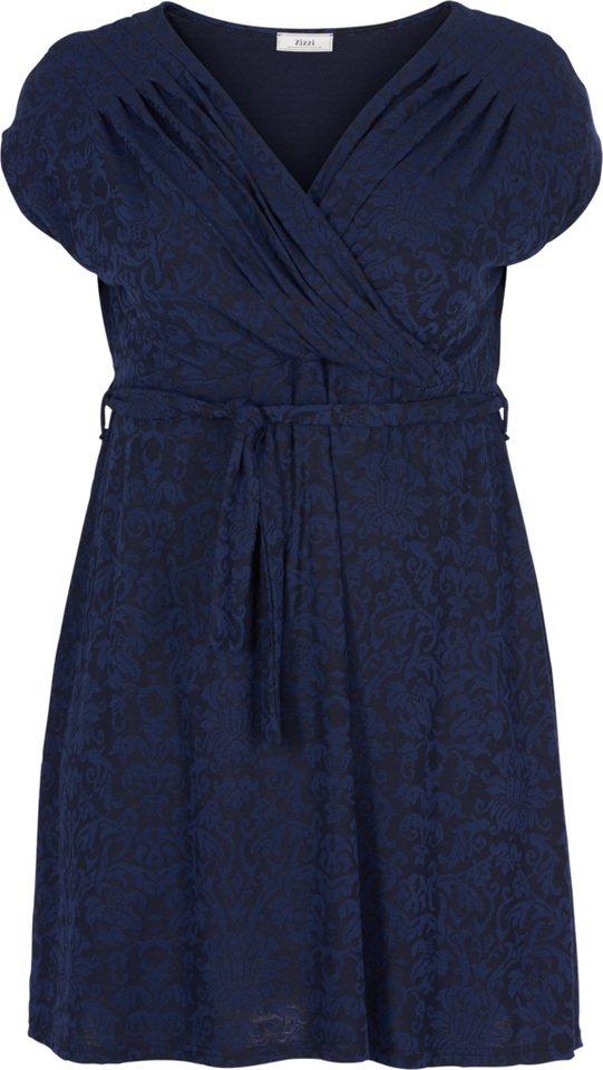 Zizzi Kleid in Night Sky Comb