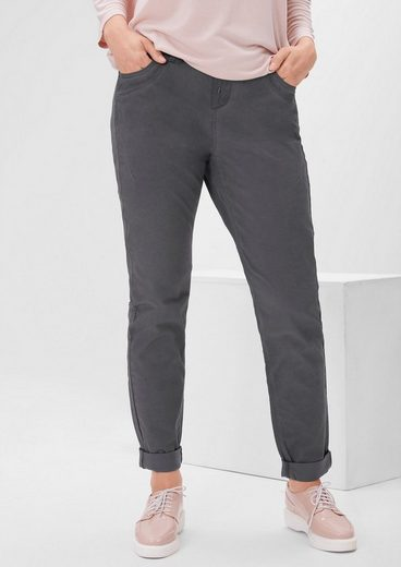 TRIANGLE Fancy Fit: Leichte Stretch-Hose