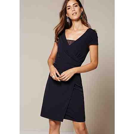 COMMA Leichtes Jerseykleid mit raffinierten Details
