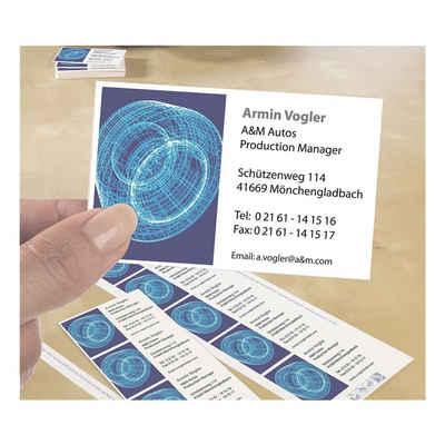 Zweckformavery Visitenkarten C32010 25