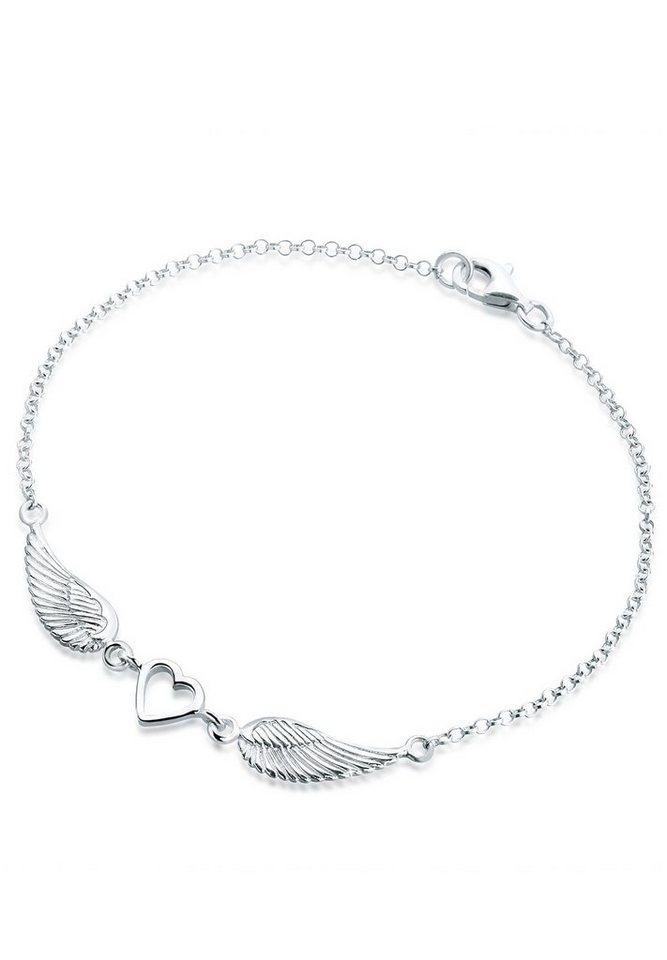 Elli Armband Herz Flügel...