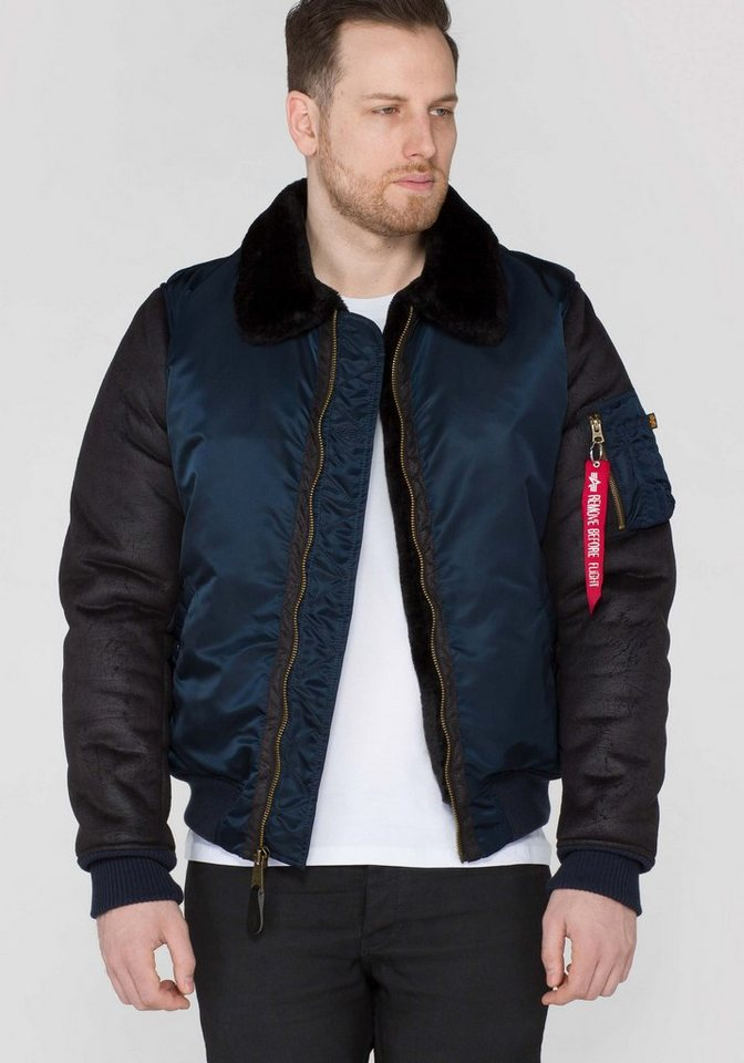 ALPHA INDUSTRIES Jacke »B3 M« in rep.blue