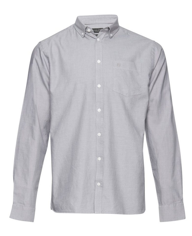 Casual Friday Hemden in Schwarz