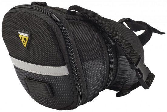 Topeak Fahrradtasche »Strap Aero Wedge Pack Satteltasche«