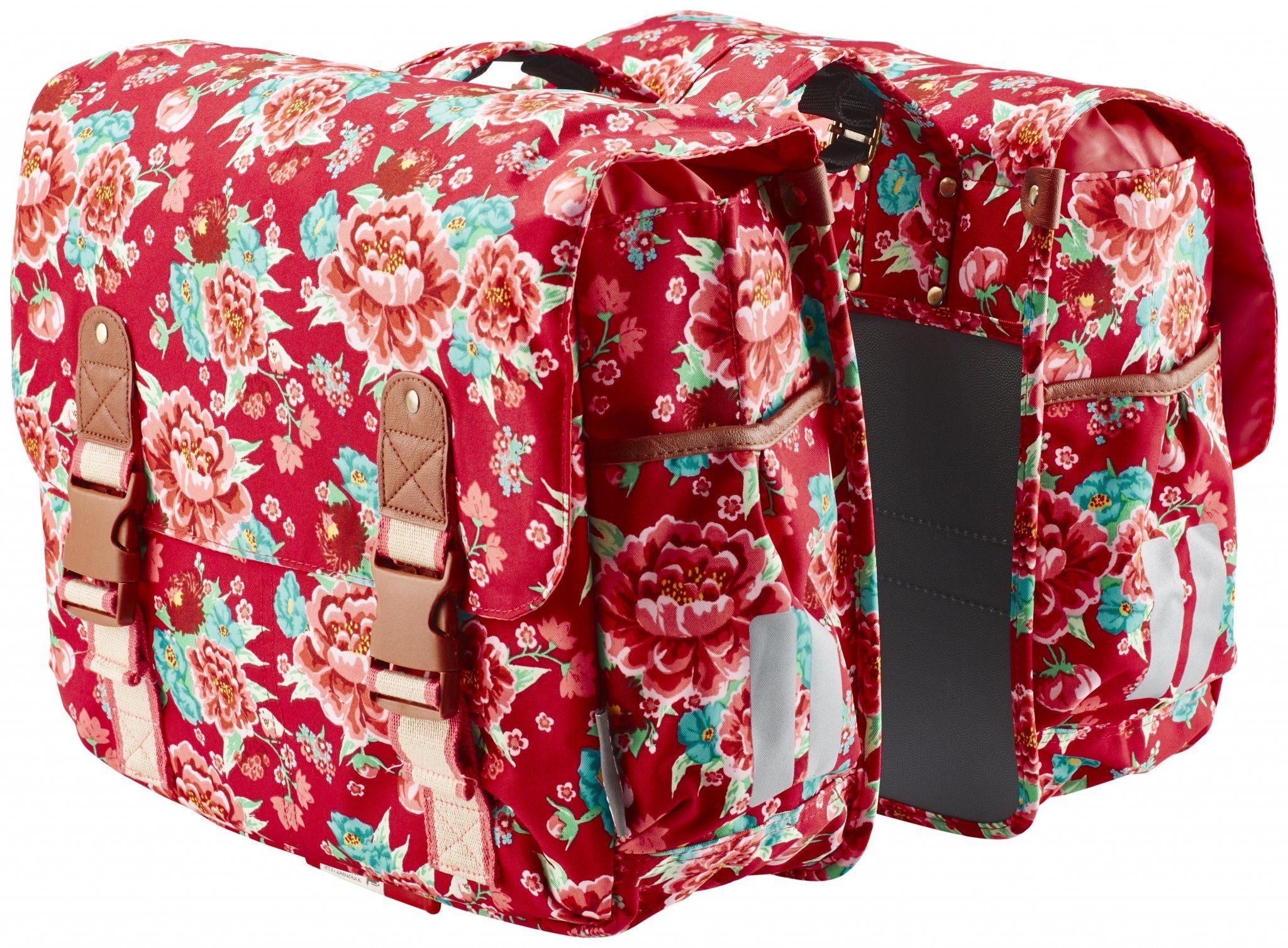 Basil Gepäckträgertasche »Bloom Doppeltasche«