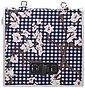 Basil Gepäckträgertasche »Blossom Farm Doppeltasche weiß-blau«, Bild 2