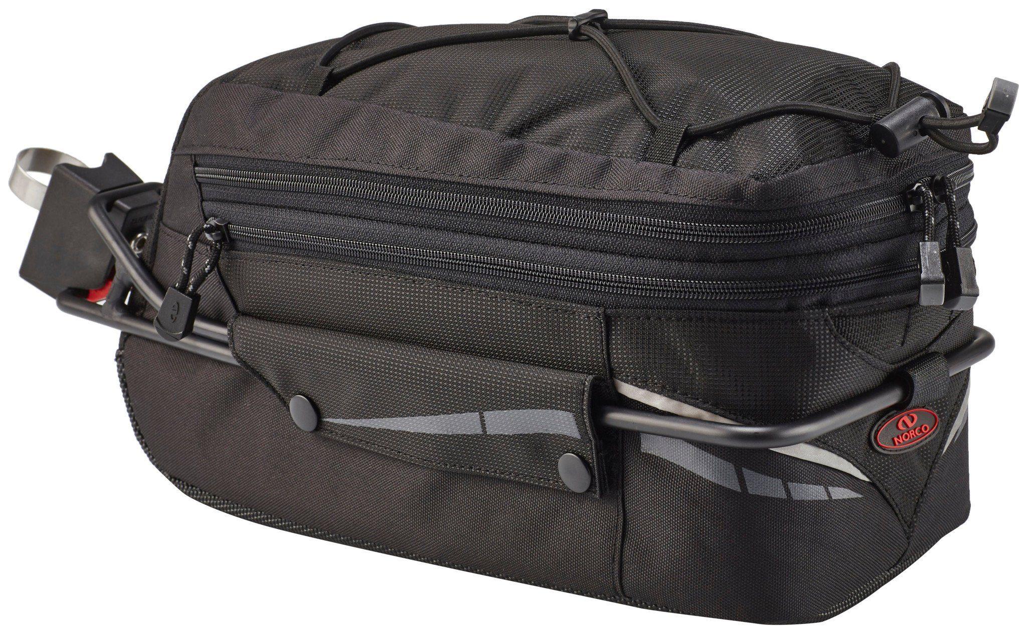 Norco Gepäckträgertasche »Canmore Sattelstütztasche schwarz«