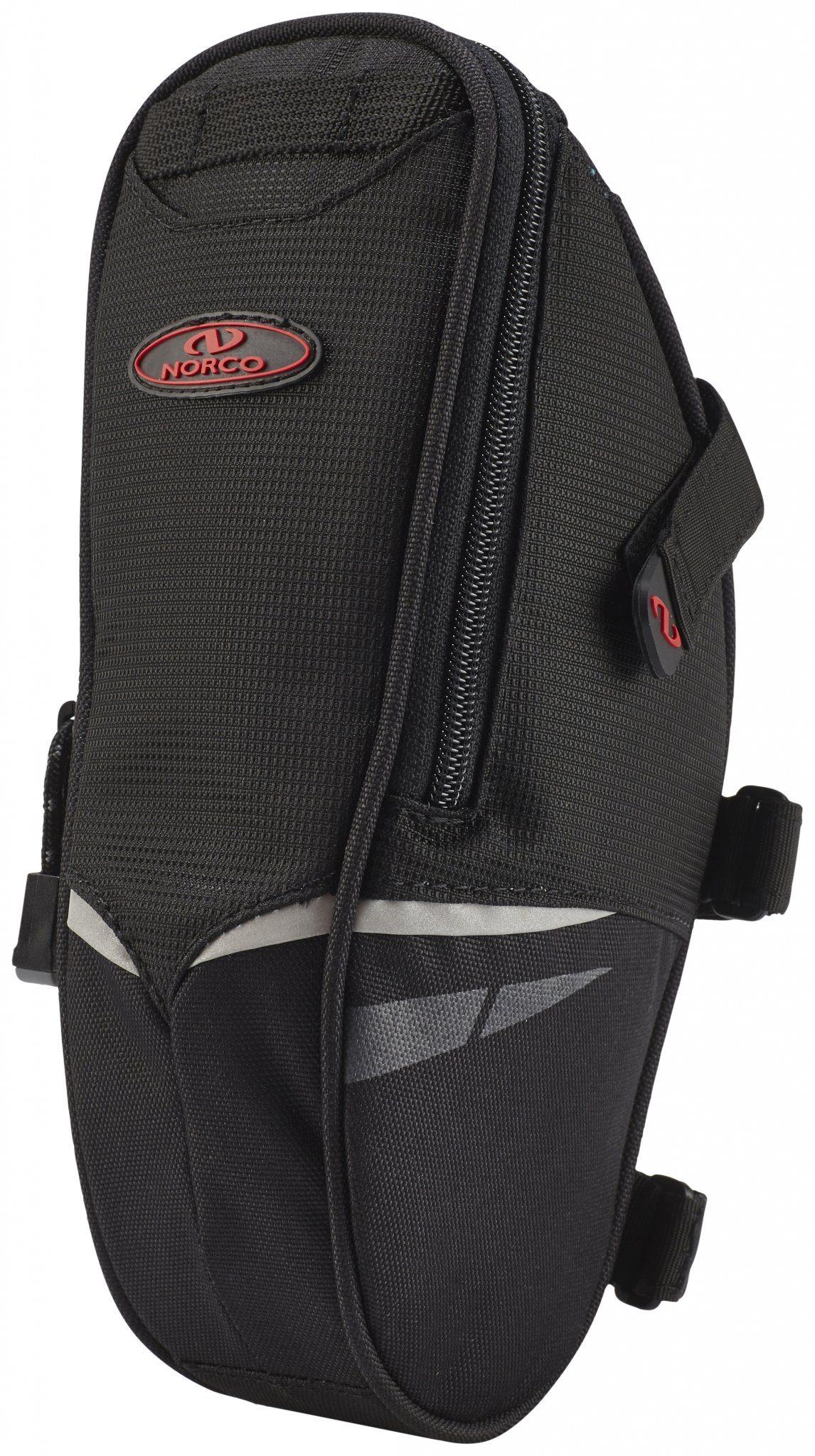 Norco Gepäckträgertasche »Utah Satteltasche schwarz«