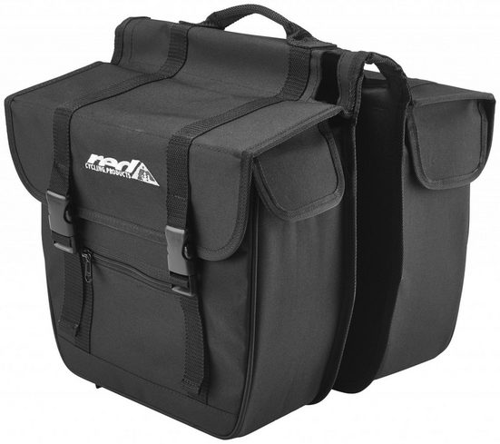 Red Cycling Products Gepäckträgertasche »Travel Double Bag Gepäckträgertasche«