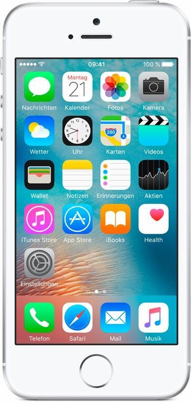 """Apple iPhone SE 4"""" 16 GB in Silber"""