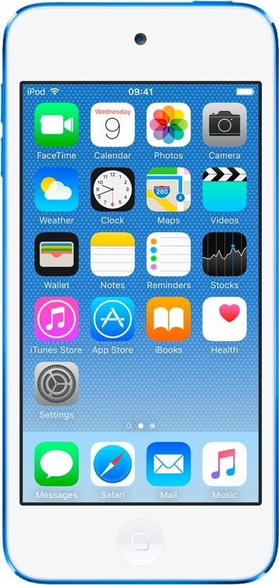 "Apple iPod touch 4"" 16 GB in Blau"