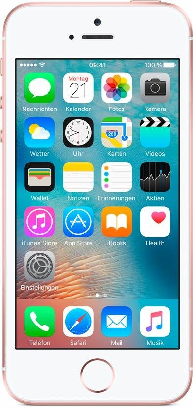"Apple iPhone SE 4"" 16 GB in Roségold"