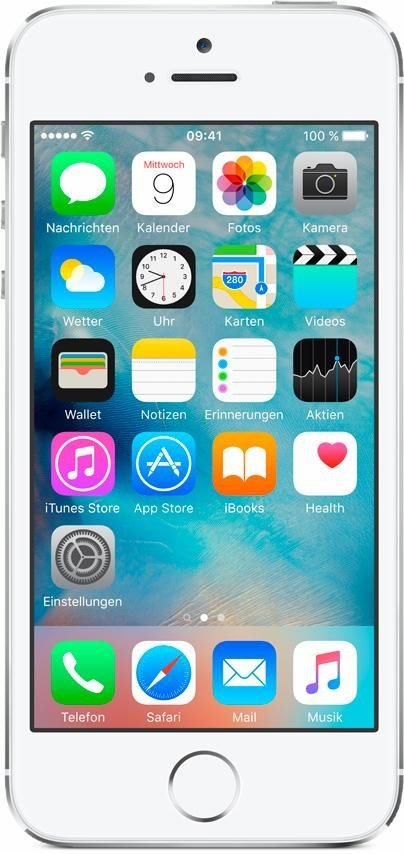 "Apple iPhone 5s 4"" 16 GB in Silber"